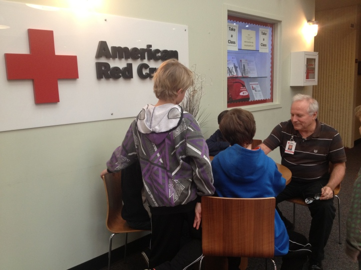 Lawton Students Donate to Red Cross