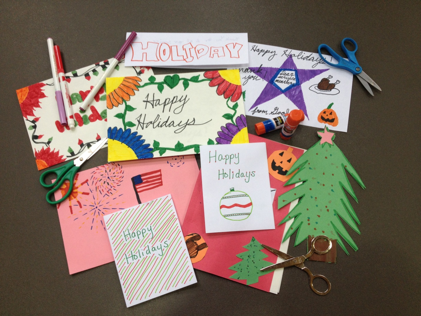 Holiday Mail for Heroes Kicks Off – American Red Cross Northwest Region