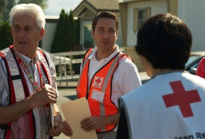Red Cross volunteer Pascal Chevalier