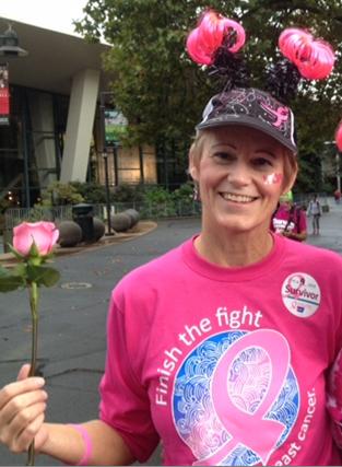 Making Strides against Breast Cancer Walk