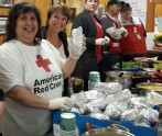 Red Cross responders serv the community