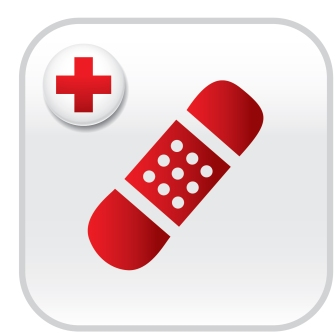 Icon used on American Red Cross Apps