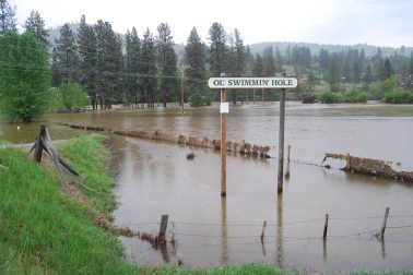 2018 flooding in the Okanogan