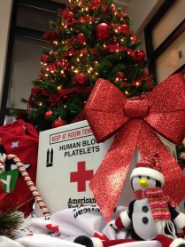 Winter 2015_platelet box under Xmas tree