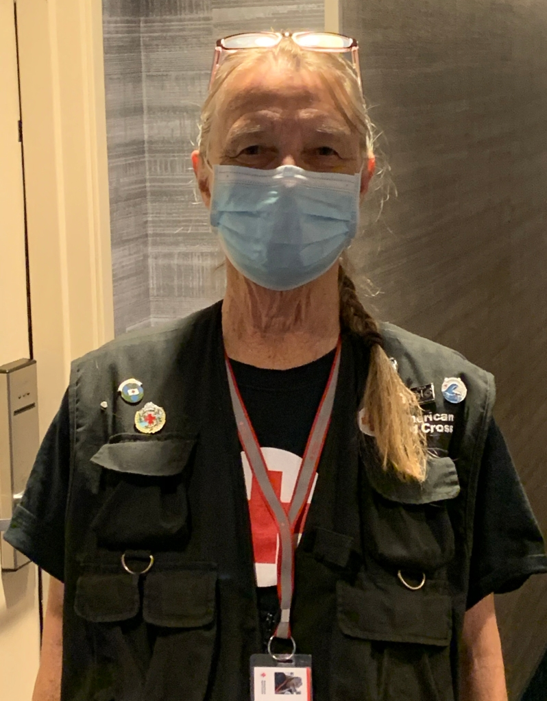 Photo of Red Cross volunteer Janice Chapman